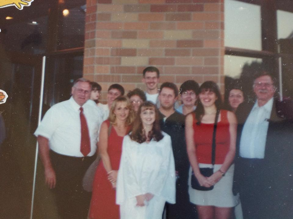 Hessinger Clan At My HS Graduation