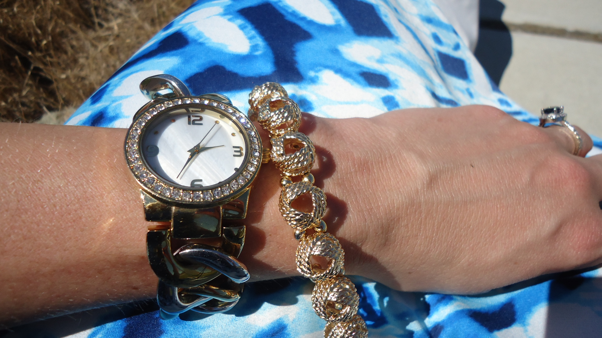 mark. All In Good Time Watch and Glimmer and Gleam Bracelet Set