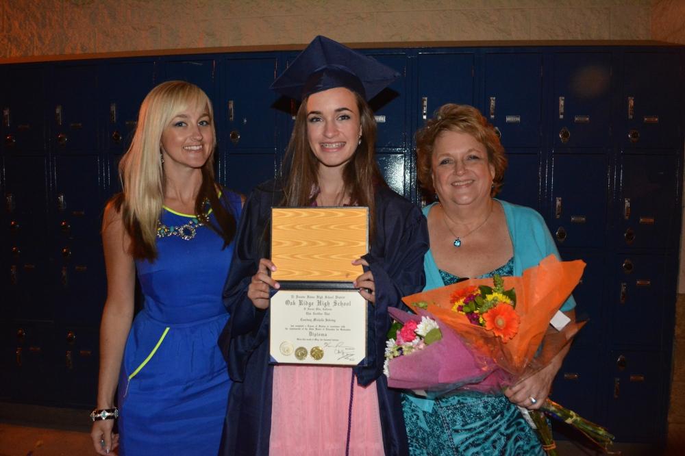 Courtney ORHS Graduation