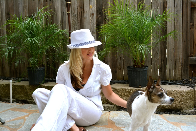 Week O'Nautical White Linen
