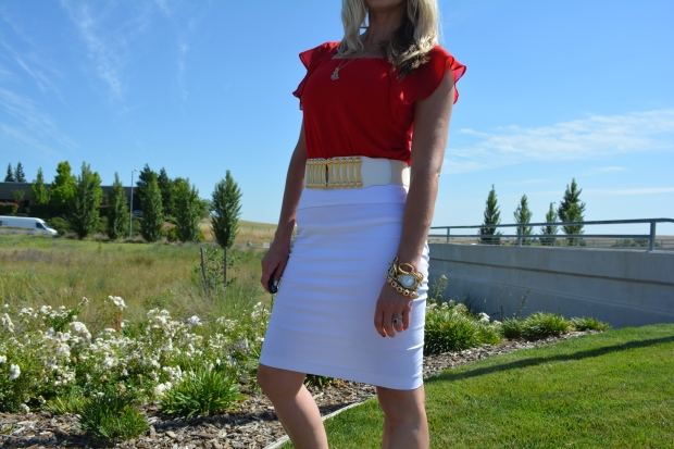 mark. The White Approach Belt ($18)