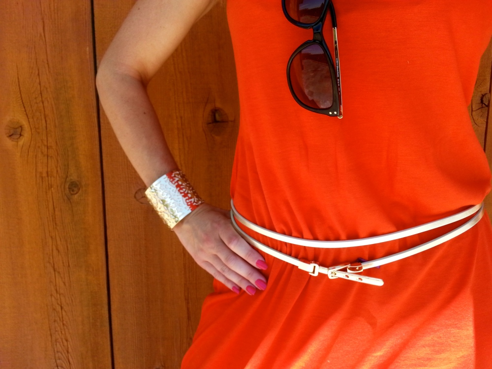 Orange and Gold for Summer