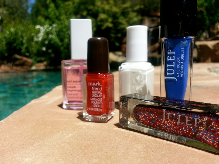 The Arsenal:  4th Of July Nails