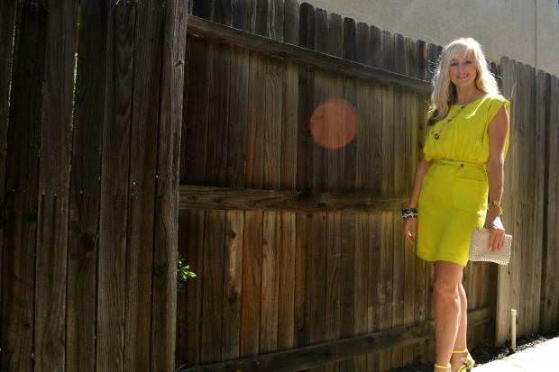 mark. Love On The Lime Dress $44