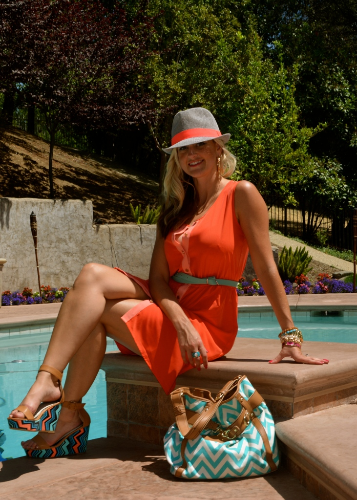 Coral and Turquoise For Summer