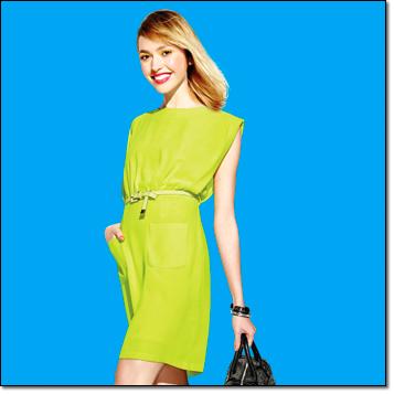 mark. love on the lime dress