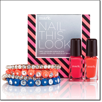 mark. Nail This Look Polish and Bracelet Set ($28)