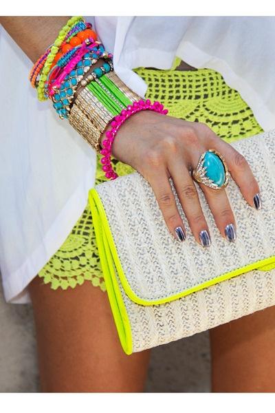 Pinspiration:  Neon Trimmings