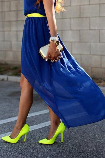 Pinspiration:  Neon Pumps