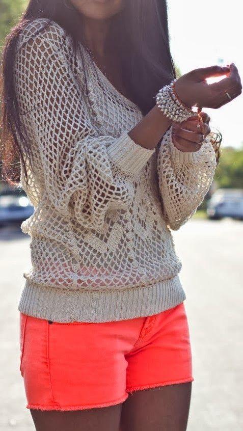 Pinspiration:  Neon Shorts