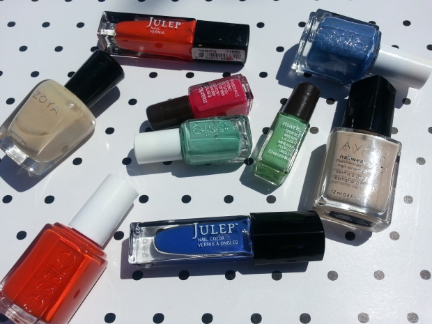Summer 2014 Pedi Polish Trends