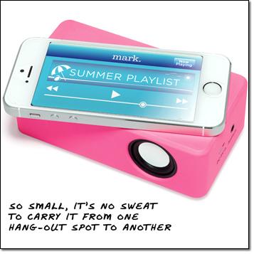 mark. Great Play Portable Speaker