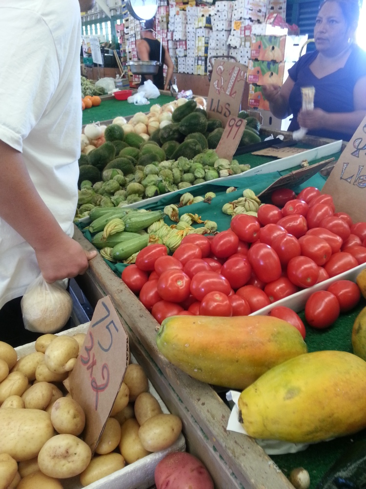 Local Fresh Fruits and Veggies