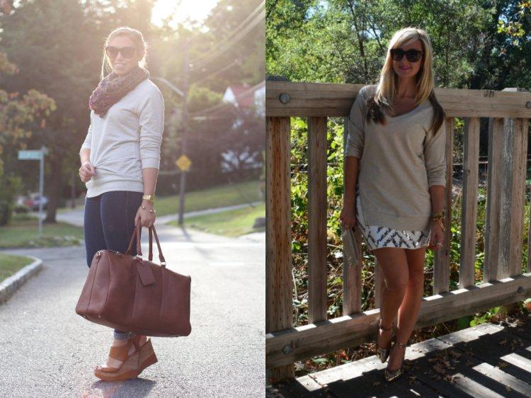 Wear and Share Wednesday with mark. Effortless Edge Sweatshirt