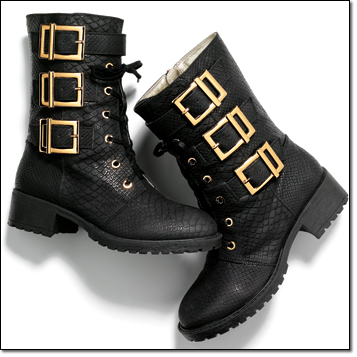 mark. Army of Style Boots $60