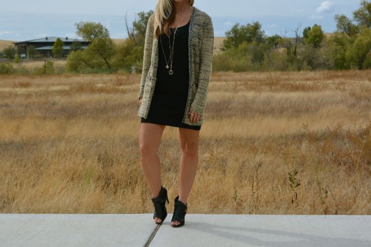 Cozy and Chic in the mark. Chain Of Command Cardi