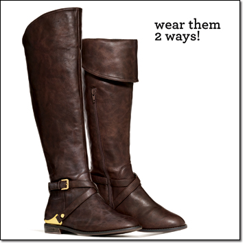 mark. Go For A Ride Boots Orig $60 NOW $45