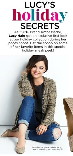 Lucy Hale in the Chain Of Command Cardigan