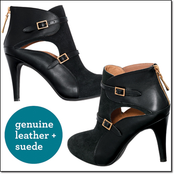 mark. Multi Mixed Media Booties NOW $48