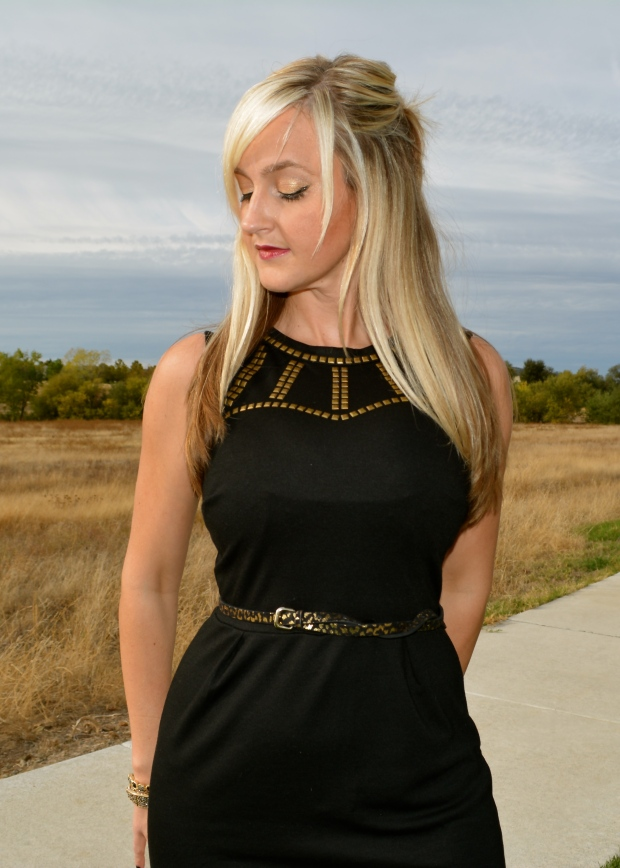 Fit to perfection mark. Wild For The Night Dress