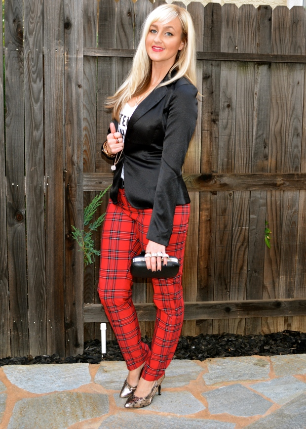 Go Bold This Holiday With Plaid Pants