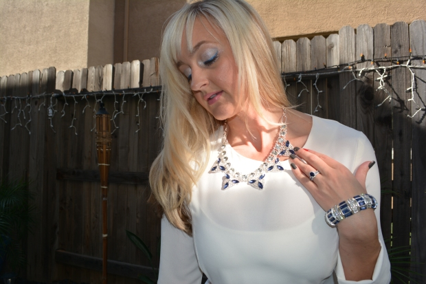 mark. Ice Cold Collar Necklace and Icy Gaze Bracelet