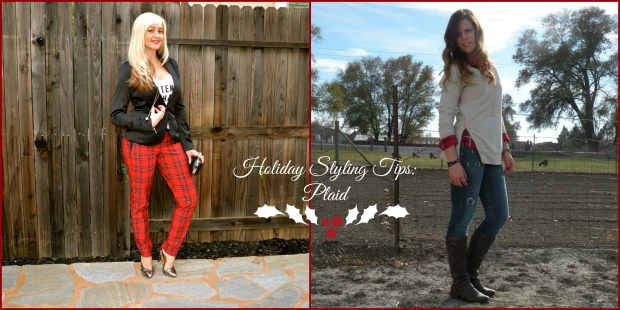 Holiday Styling Tips:  Plaid