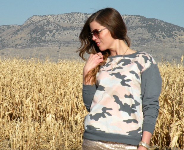 mark. Desert Dream Camo Sweatshirt