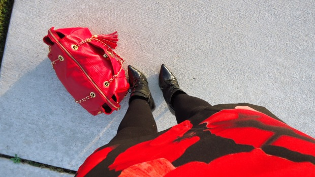 Booties and A Red Bag