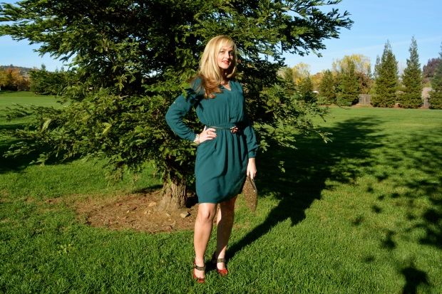 Green Shirtdress For Holiday Outifts