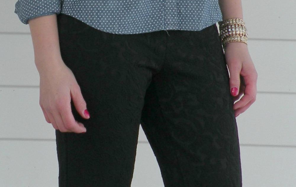 mark. Night Gaze Jacquard Pants
