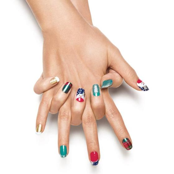 Avon Nail Art Design French Tips