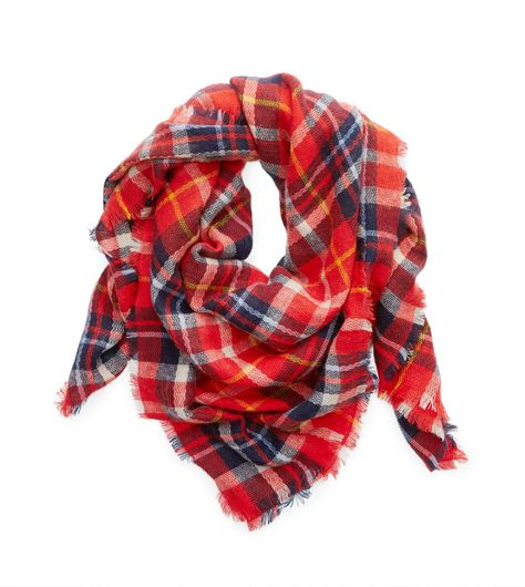 American Eagle Outfitters Plaid Blanket Scarf