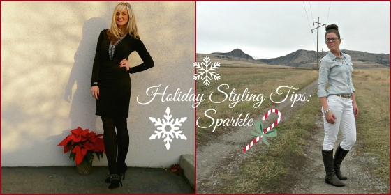 Holiday Styling Tips:  Sparkle