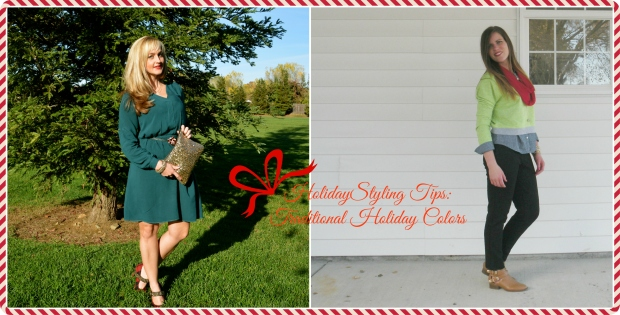 Holiday Styling Tip:  Traditional Holiday Colors