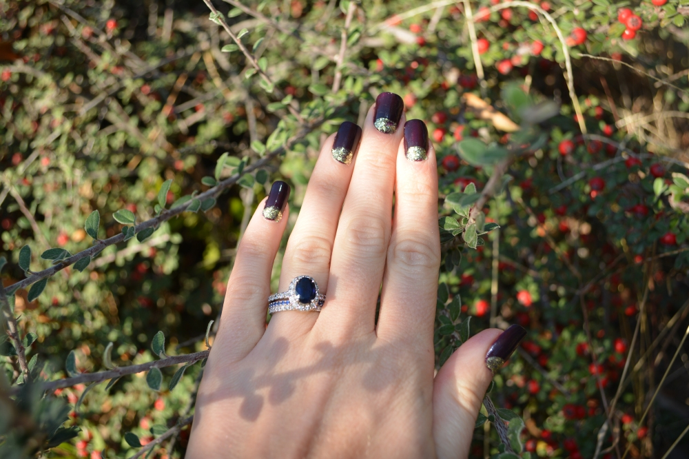 Shimmering Mani with mark and Julep