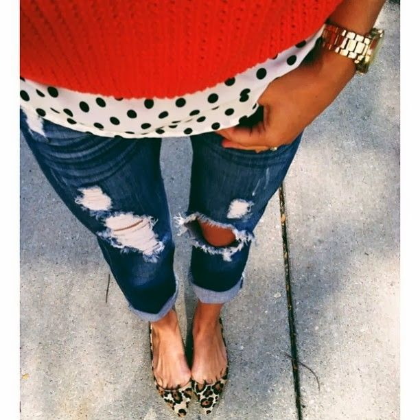 Leopard Flats and Polka Dots