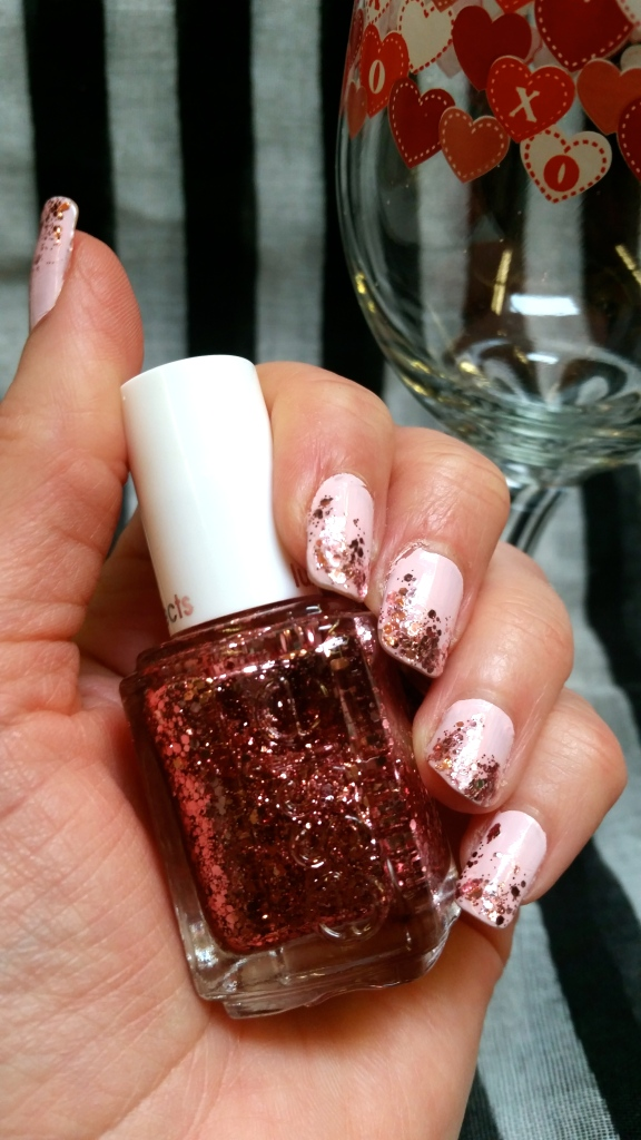 Easy Valentine's Day Mani with Essie