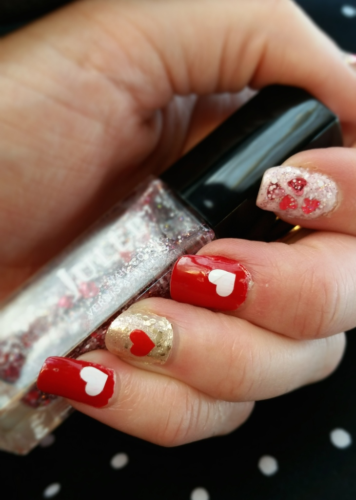 Valentine's Day Nails with Julep