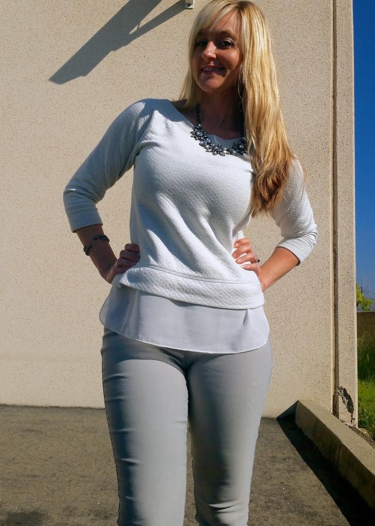 mark. Sheer Brilliance Sweatshirt