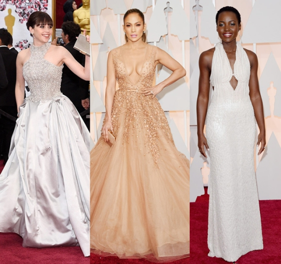 Oscar Dresses in Soft Shades