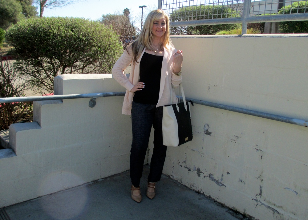 Styling Soft pants with Soft Shades