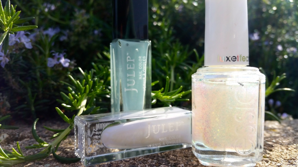 Julep Dana, Julep Shelly and Essie Luxeffects in Shine Of The Times