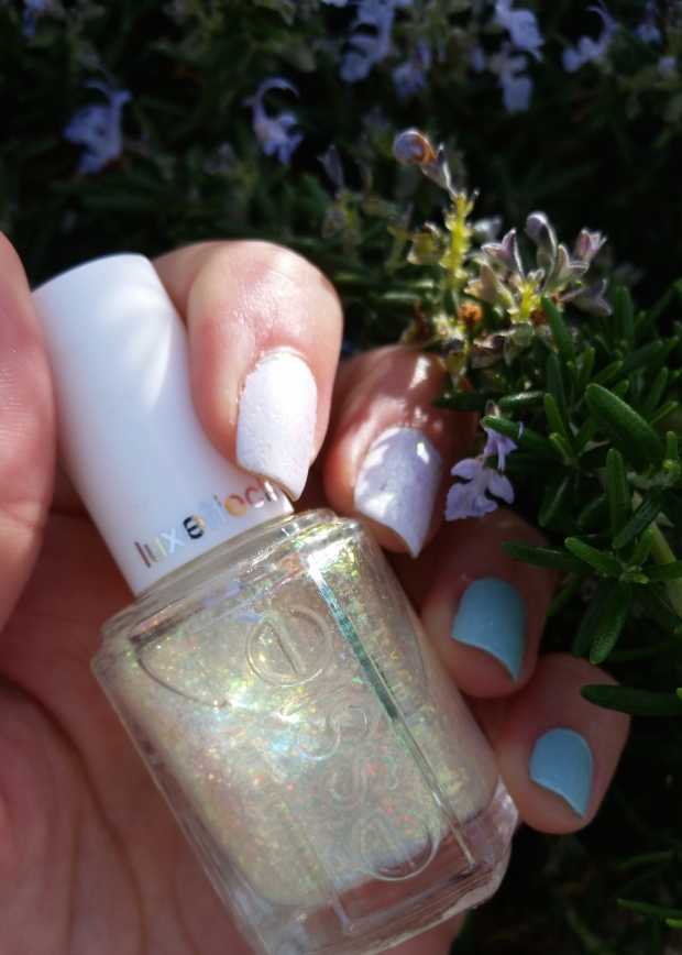 Cinderella's Glass Slipper Mani