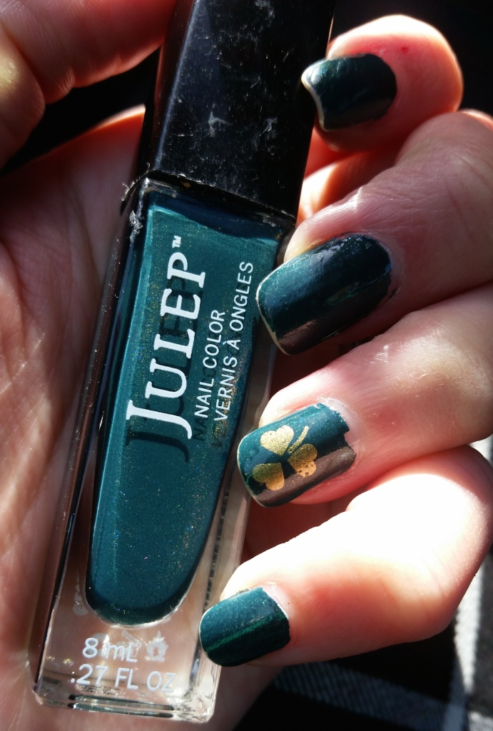 Julep Valerie with Shamrock Decal
