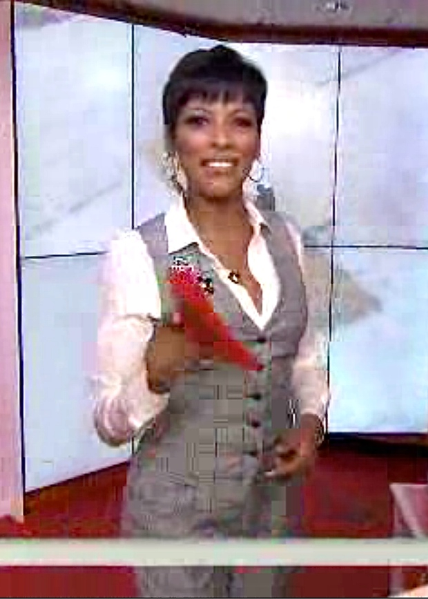 Tamron Hall's Plaid Today Show Look