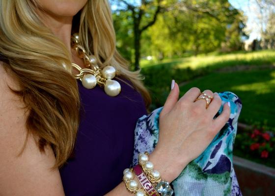 Oversized Pearls (bebe), Might Pretty Bracelet (mark.), Tool Around Ring Set (mark.)