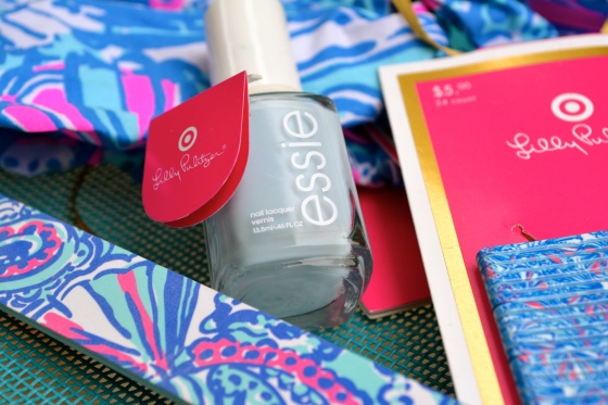 Essie Borrowed & Blue for Lilly Pulitzer for Target
