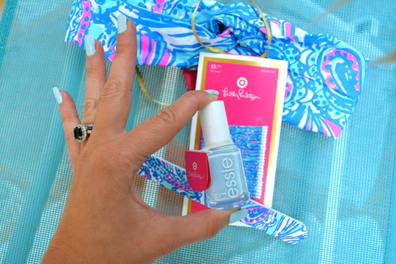 Essie Borrowed and Blue from Lilly For Target Collection