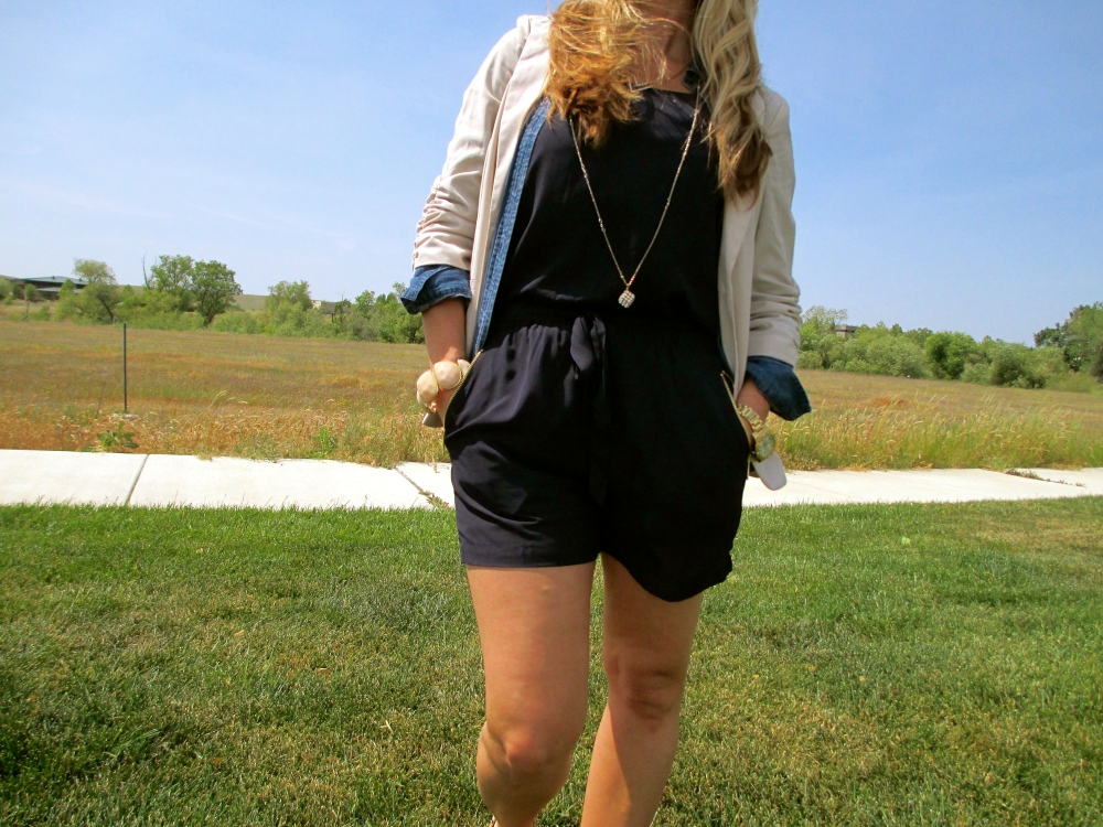 mark. Easy Does It Romper Layered For Spring